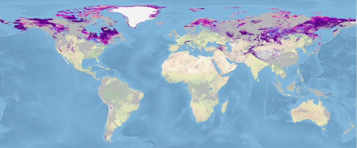 Photo of Mappe mondiali della neve per capire i cambiamenti climatici