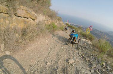hand bike, Gran Sasso, turismo, disabilità, Alex Zanardi