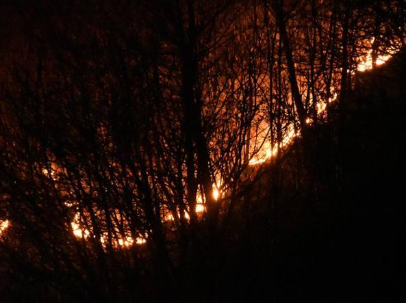 Photo of Vento forte e caldo sulle Alpi. È emergenza incendi