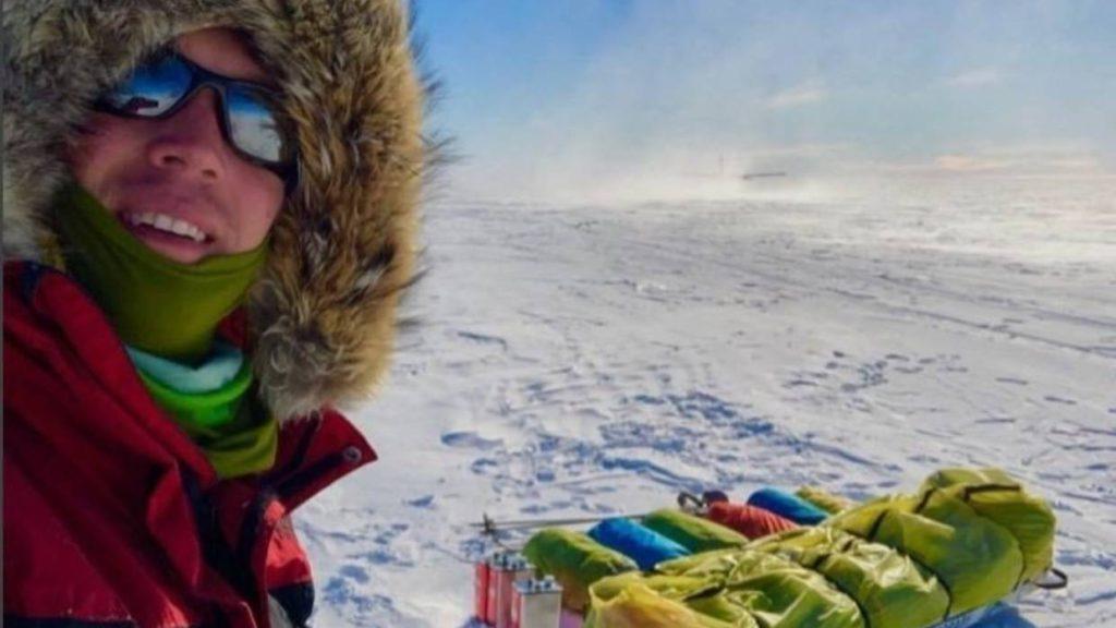 Colin O'Bready, Louis Rudd, Antartide, traversata, solo
