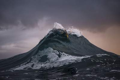 Ray Collins, fotografia, surf, oceano, fotografia, montagne