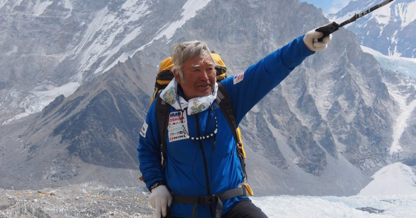 Yuichiro Miura, Aconcagua, Everest, ski, record