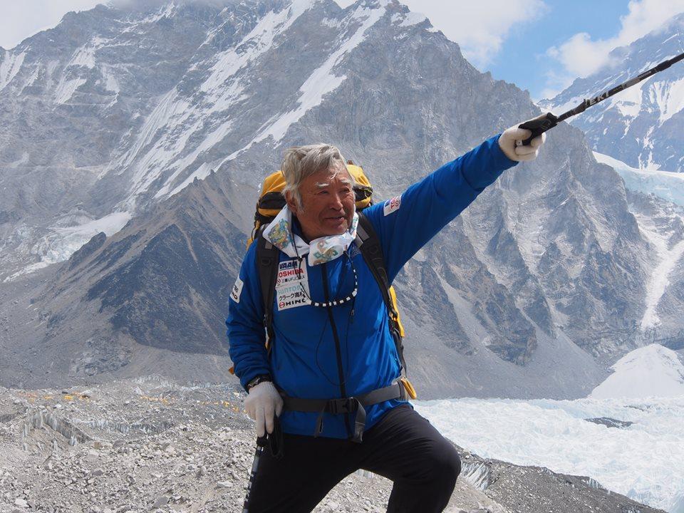 Photo of Yuichiro Miura, a gennaio 2019 sull' Aconcagua a 86 anni