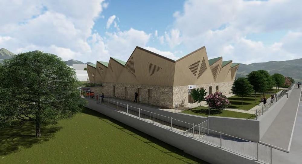 Photo of Amatrice: iniziano i lavori per la nuova Casa della Montagna