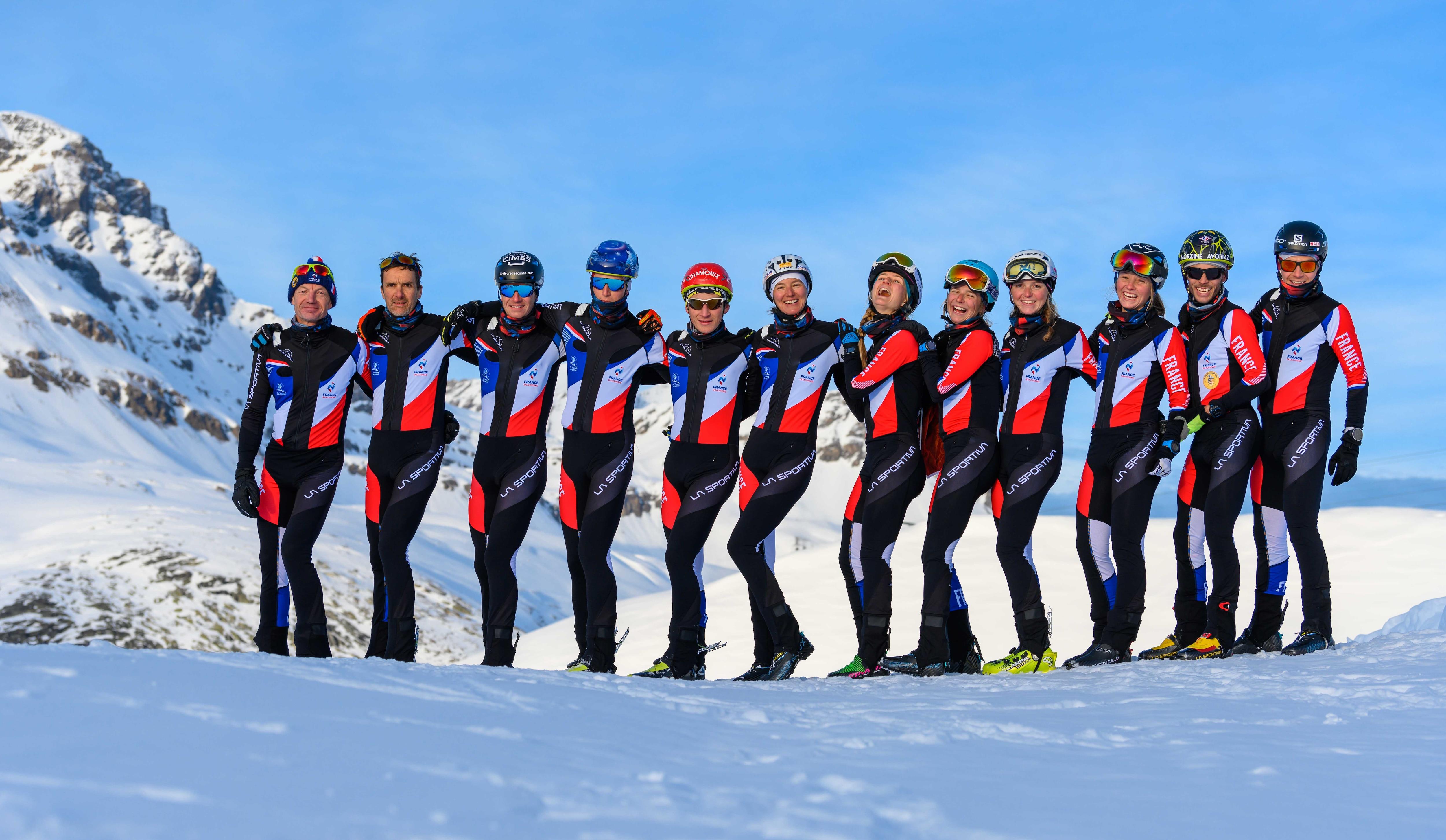 Photo of La Sportiva main sponsor ufficiale della nazionale francese di scialpinismo