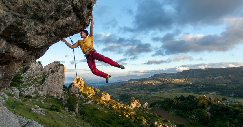 Pietro Radassao, Frosolone, Colle dell'Orso, Molise, arrampicata