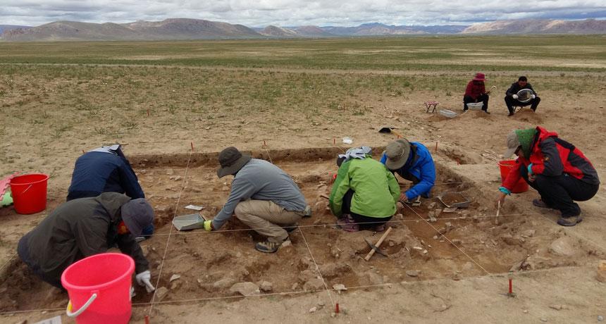 Photo of Tibet. I primi abitanti giunsero nel Paleolitico