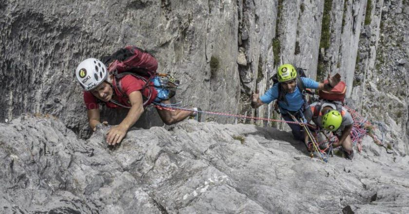 Marc Batard, Muhammad Ali Sadpara, Monte Bianco, Grands Jorasses, Everest