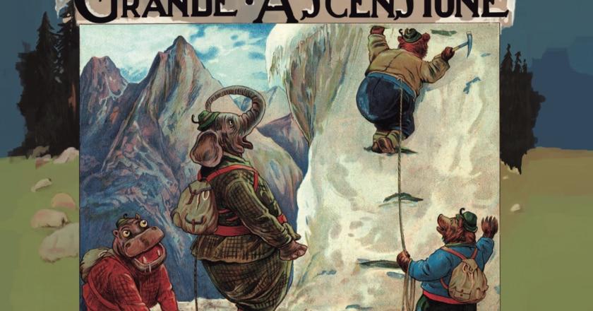 Il Club Alpino degli Animali, La Grande Ascensione, Mulatero Editore, Clifton Bingham, George Henry Thompson