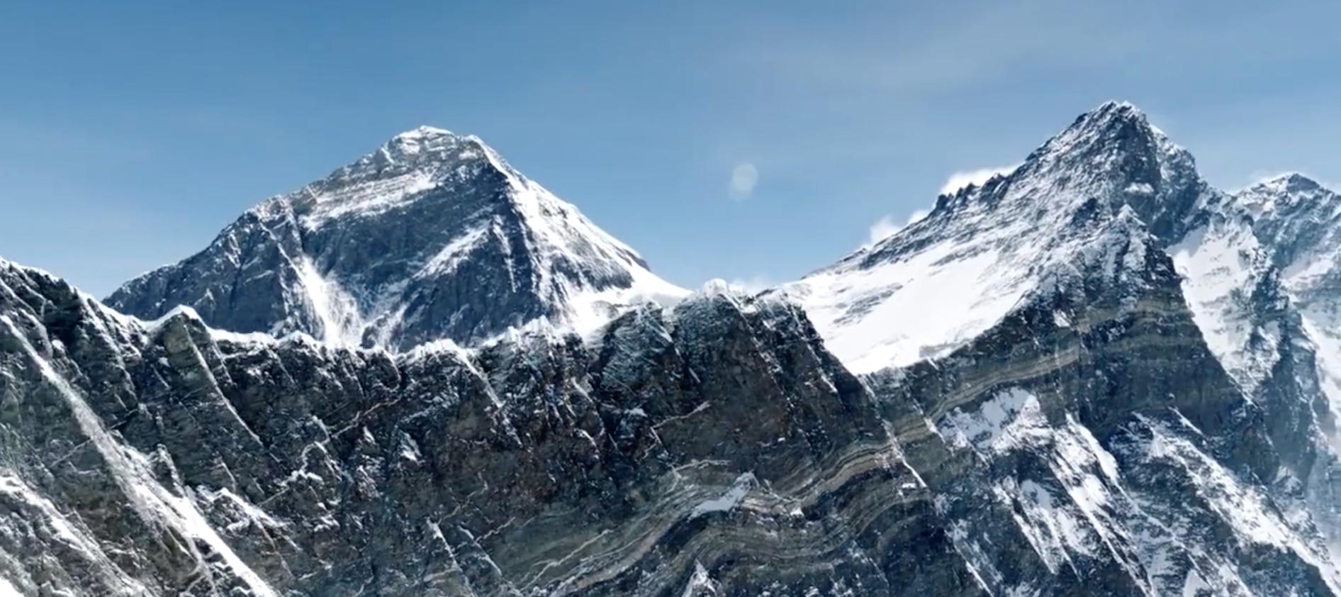 Photo of L'Everest da una prospettiva mai vista
