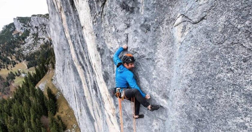 alpinismo, arrampicata, alex huber