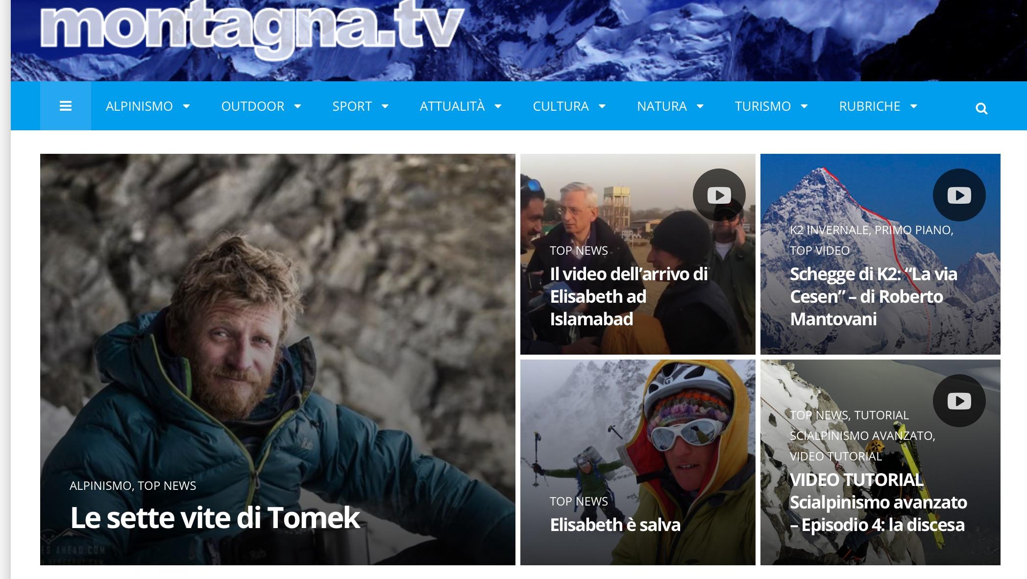 Photo of I 10 articoli più letti su Montagna.tv nel 2018
