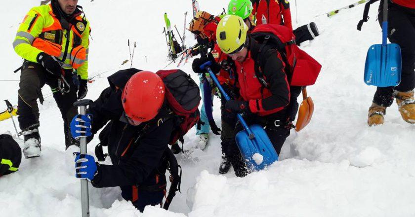 soccorso alpino, valanghe, sci alpinismo, ciaspole