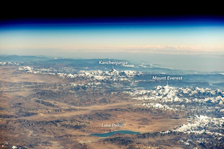 Photo of Foto del giorno: l'Himalaya vista dalla Stazione Spaziale Internazionale