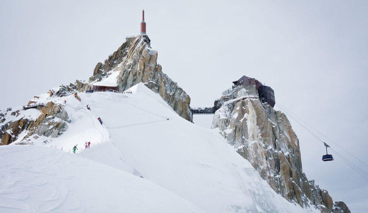Photo of Salva la stagione invernale, riaperta la funivia dell'Aiguille du Midi