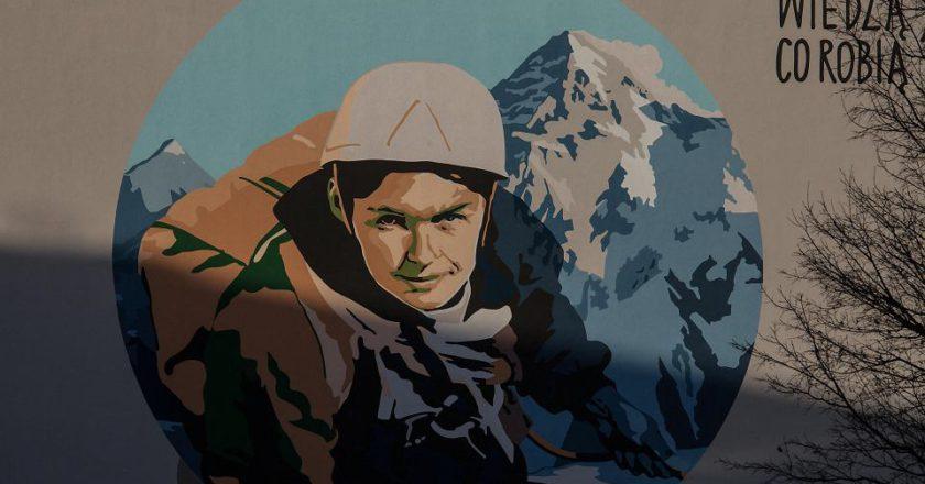 alpinismo, street art, Wanda Rutkiewicz
