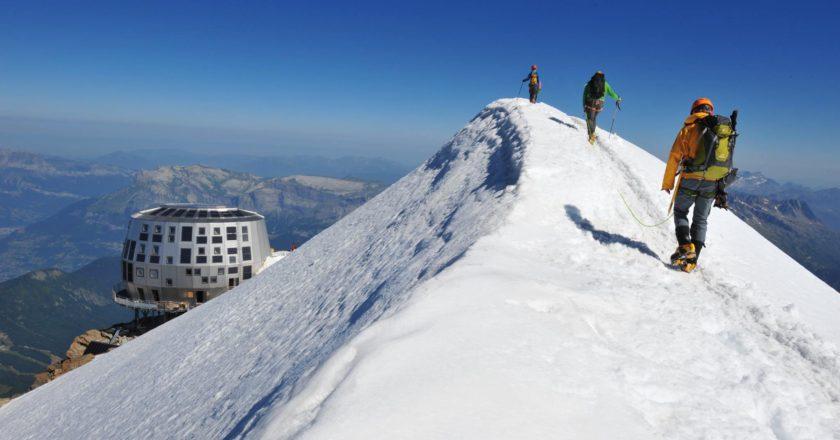 Goûter, monte bianco, alpinismo, rifugio