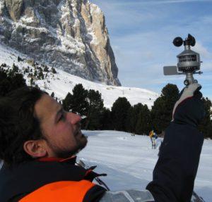 Filippo Thiery, meteo, neve, siccità