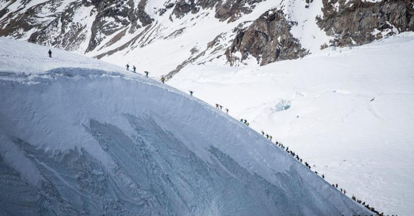 Mezzalama 2019, Monte Rosa, Lyskamm, Castore, Adriano Favre, scialpinismo, Valle d'Aosta