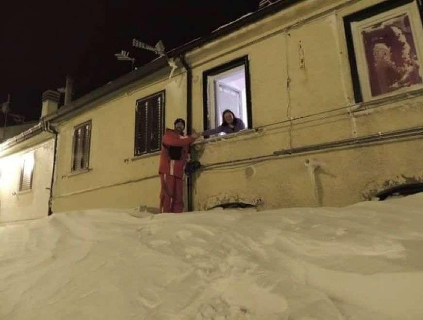 Molise, Capracotta, neve, gennaio, record