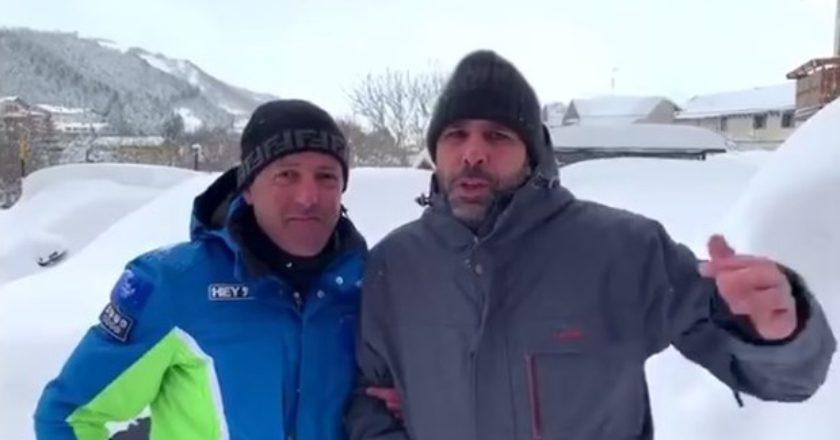 Checco Zalone, Roccaraso, Neve, Quo Vado?