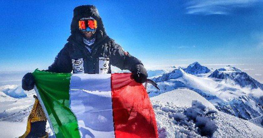 Danilo Callegari, Antarctica Extreme, Monte Vinson, 7Summits solo project