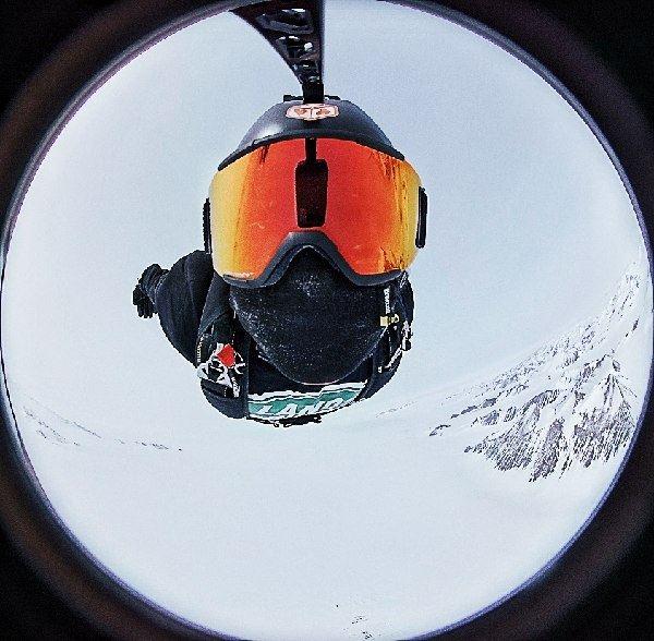 Danilo Callegari, Antarctica Extreme, Antartide, caduta libera
