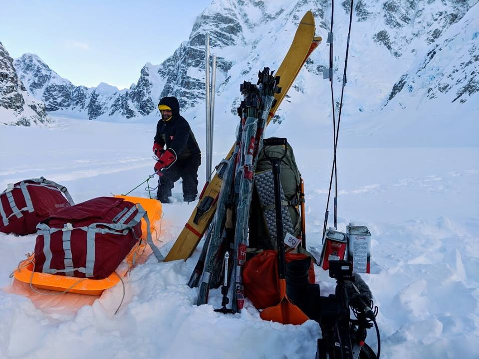 Lonnie Dupre, Alaska, monte Hunter, Ramen Route, Beckey Route