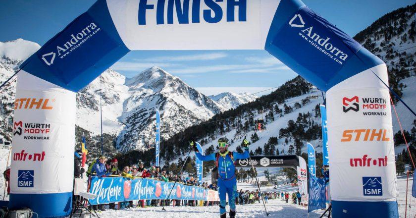 coppa del mondo di scialpinismo, Robert Antonioli, Michele Boscacci, Alba De Silvestro, Font Blanca, Andorra