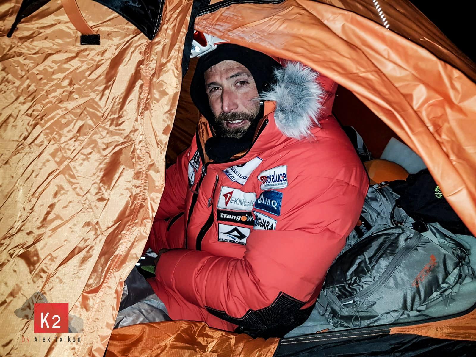 alpinismo, k2, invernale, alex txikon,