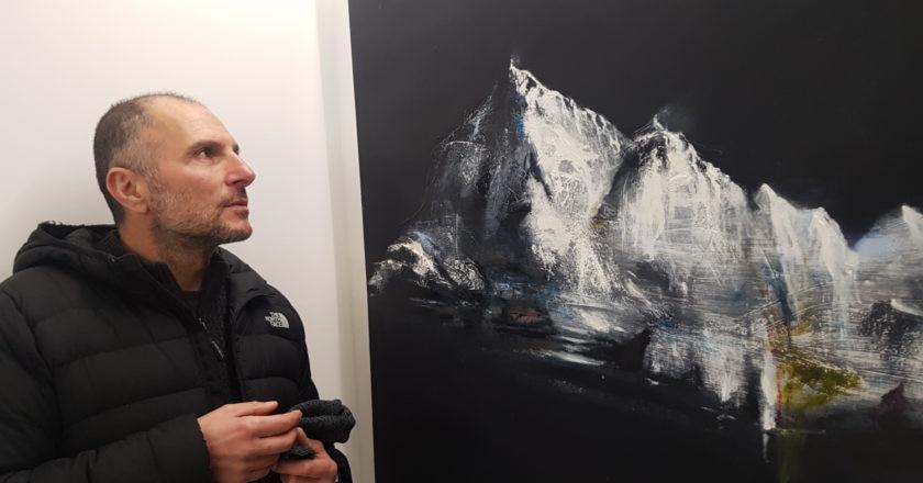 Angelo Bellobono, arte, appennino, mostre