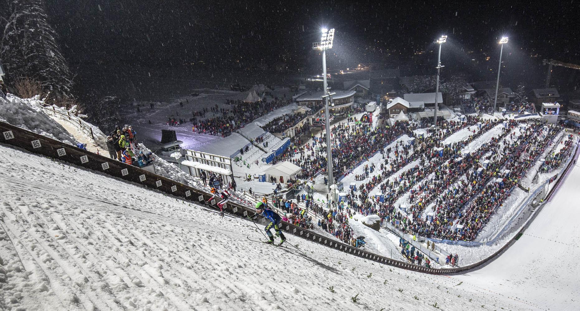 Damiano Lenzi, Torneo dei Quattro Trampolini, Bischofshofen, salto con gli sci, scialpinismo