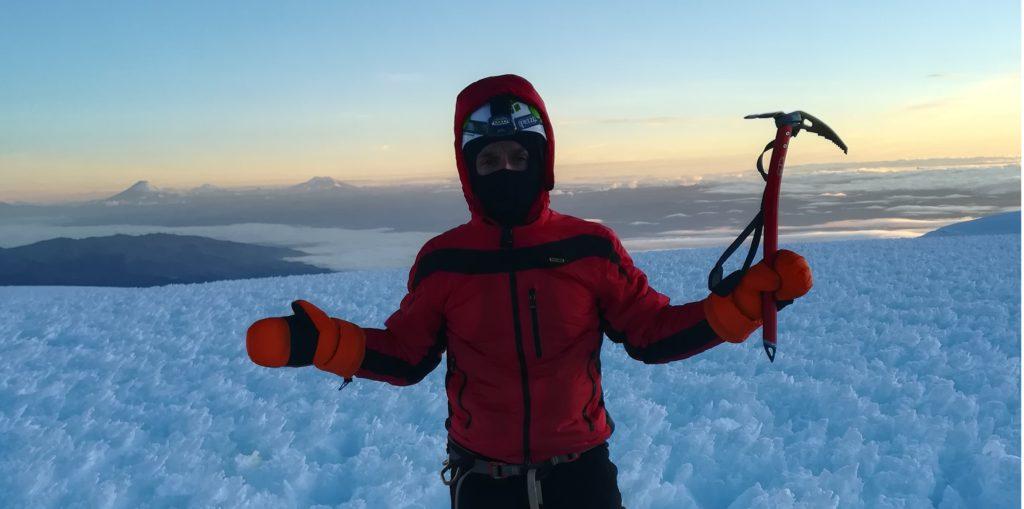 Andrea Lanfri, Chimborazo, Everest