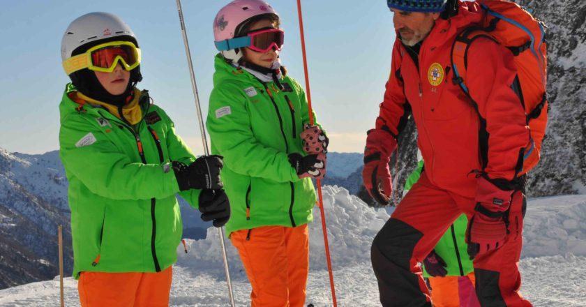 sicuri sulla neve, sicurezza in montagna, soccorso alpino