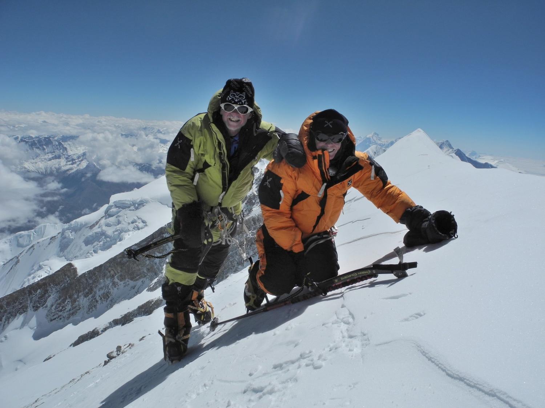 romano benet, nives merci, alpinismo