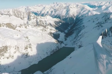 drone, poste, svizzera, oblivion aerial, alpi