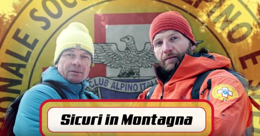 sicurezza in montagna, soccorso alpino, sentieri ghiacciati, videotutorial