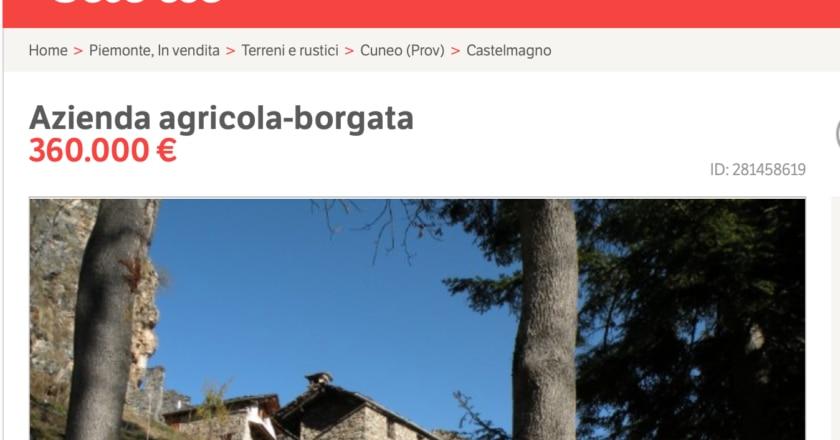 Batuira, Cuneo, Castelmagno, borgo, Piemonte, Subito.it, Marco Bussone, Uncem