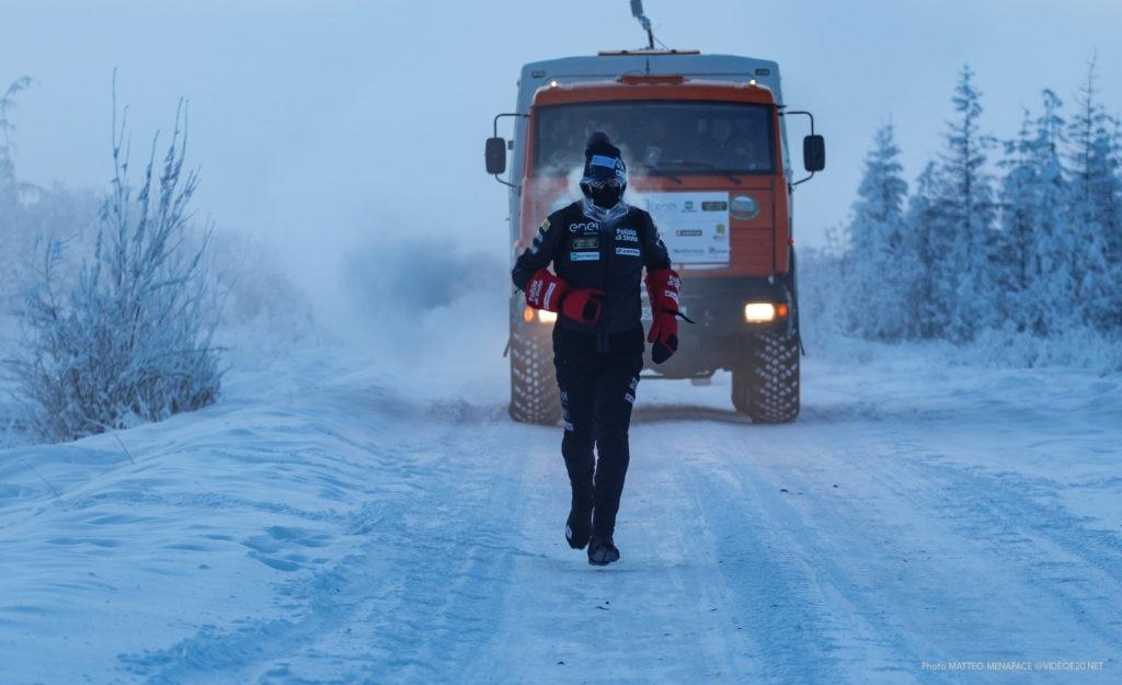 Paolo Venturini, Monster Frozen, Oymyakon, Siberia, running