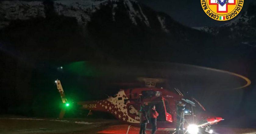 soccorso alpino, incidente in montagna, ghiacciatori, cascate