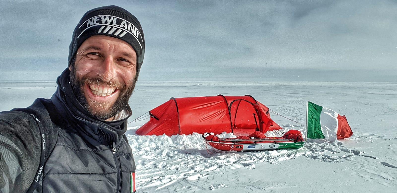 Photo of Danilo Callegari: l'Antartide mi ha cambiato profondamente