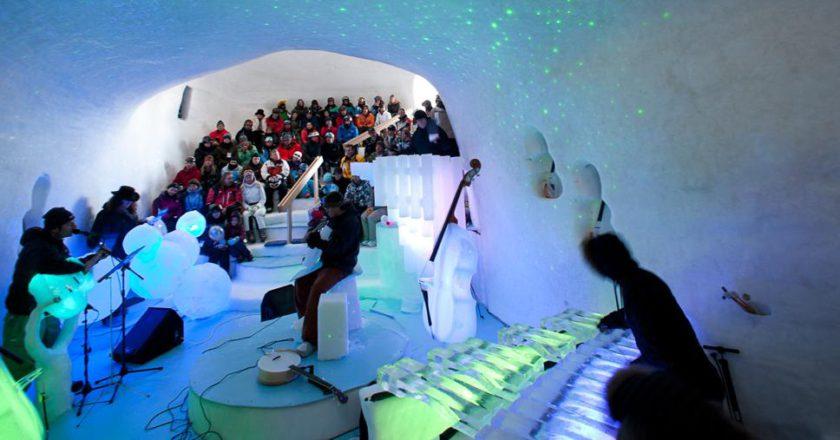 ice music festival, presena, passo del tonale, musica, concerti, igloo, ice dome, tim linhart