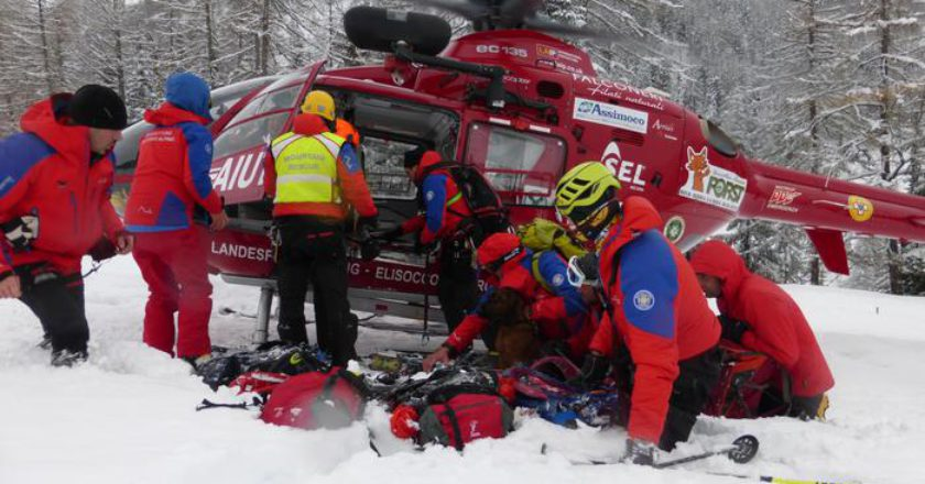 incidenti in montagna, valanghe, vallea urina, val gardena, alto adige