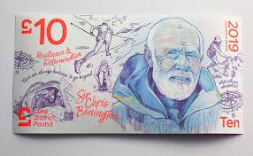 Sir Chris Bonington, sterline, lake district, inghilterra, lake district pound