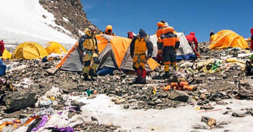 Everest, versante nord, Cina, pulizia, Qomolangma, rifiuti