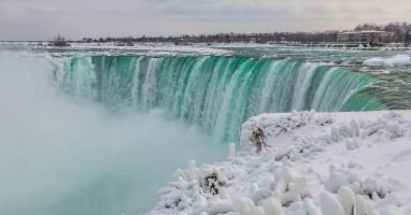 niagara falls, inverno, gelo, frozen, USA