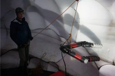 IceWorm, NASA, Erebus, Antartide, sistema solare, robot, ghiaccio