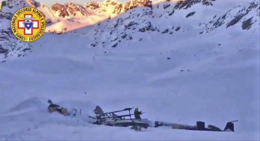 incidente aereo, Rutor, Valle d'Aosta, omicidio colposo, Philippe Michel, indagine