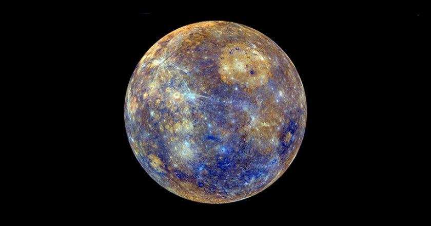 Mercurio, sistema solare, ghiaccio, poli. glaciazione, ghiacciai, spazio