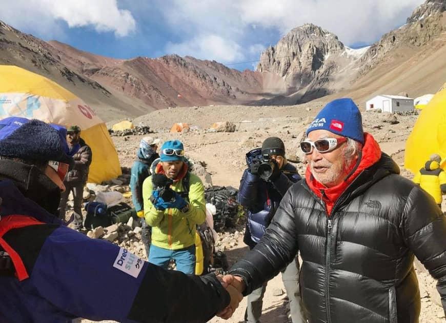 Photo of Yuichiro Miura abbandona il sogno di scalare l'Aconcagua a 86 anni